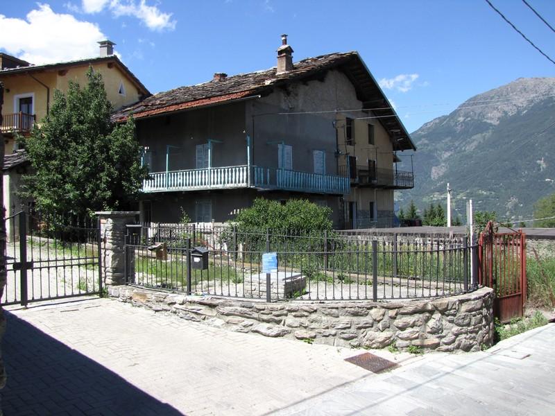 Aosta - Ristrutturazione edificio residenziale - Situazione ante intervento