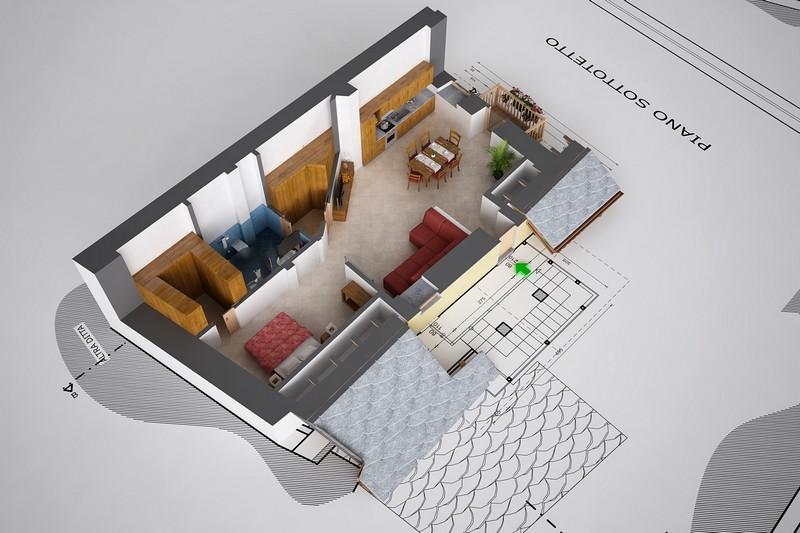 Aosta - Ristrutturazione edificio residenziale - Progetto arredi