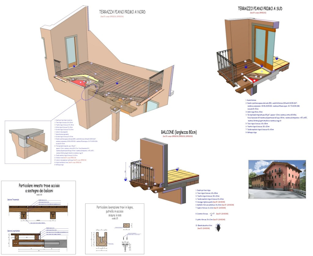 Allein - Centro Polifunzionale - elaborato progettuale