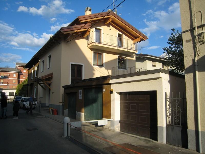 Aosta - Ristrutturazione edificio residenziale - Situazione post intervento