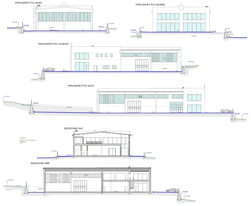 Saint Marcel - Nuovo edificio artigianale - Elaborato progettuale