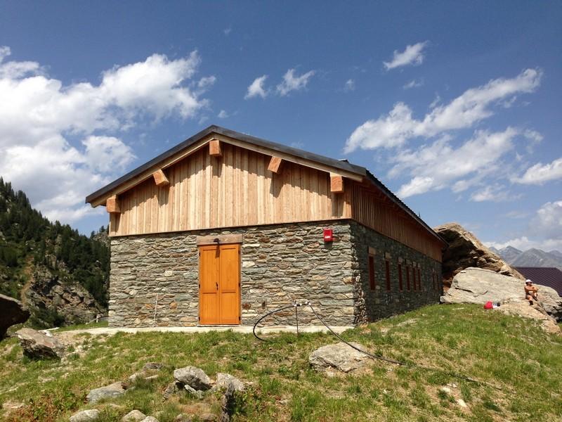 Donnas - Rifugio Alpino - lavori ultimati