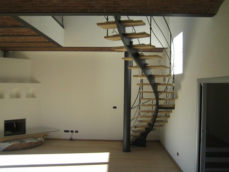 Aosta - Nuovo edificio residenziale - Particolare lavori ultimati