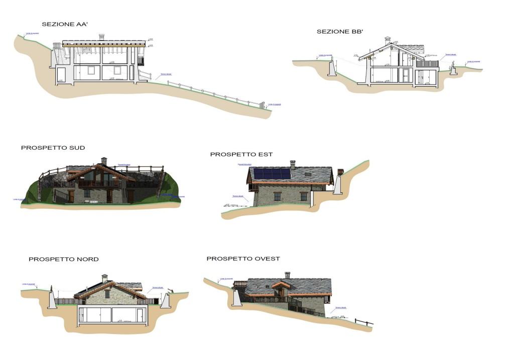 Nus - Ristrutturazione edificio residenziale - Elaborato progettuale