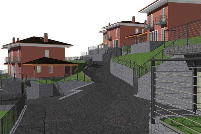 Aosta - Nuovo complesso edifici residenziali - Elaborato progettuale