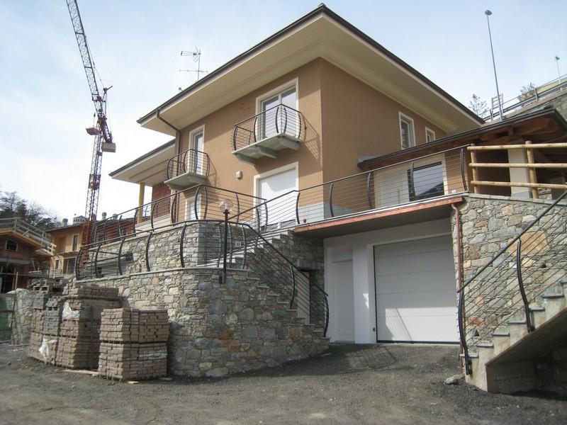 Aosta - Nuovo complesso edifici residenziali - Lavori ultimati