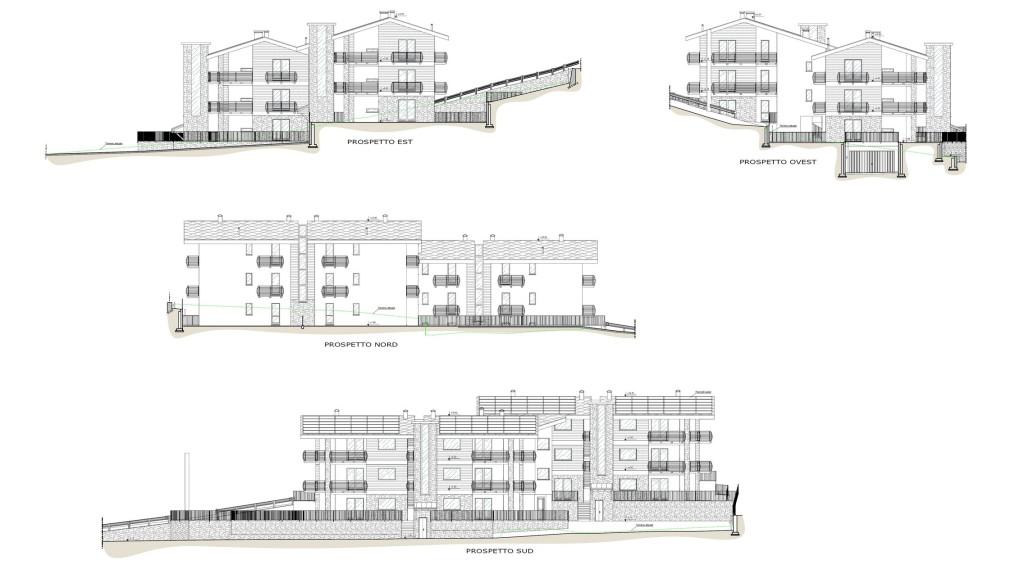 Quart - Nuovo complesso edifici residenziali - Elaborato progettuale
