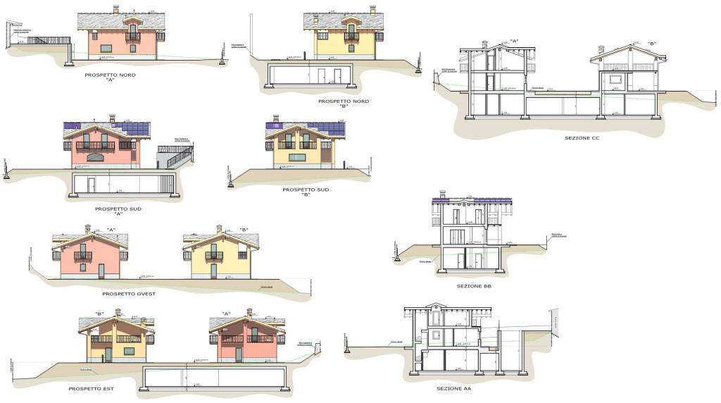 Quart - Nuovi edifici residenziali - Elaborato progettuale
